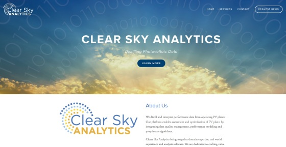 Clear Sky Analytics :: Concept, Design